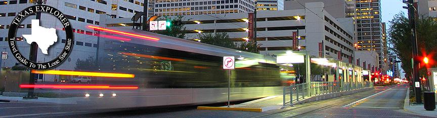 Metro Rail Houston Texas