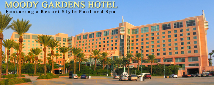 Moody gardens hotel and convention center for Moody gardens hotel